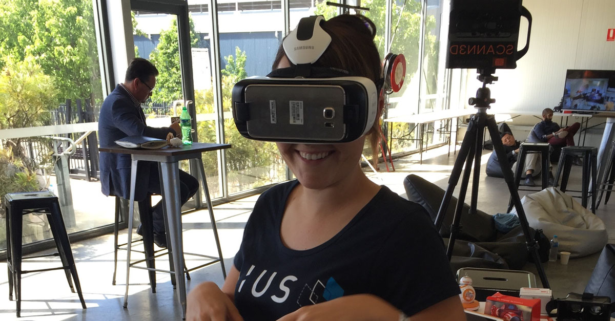 VR headset consulting