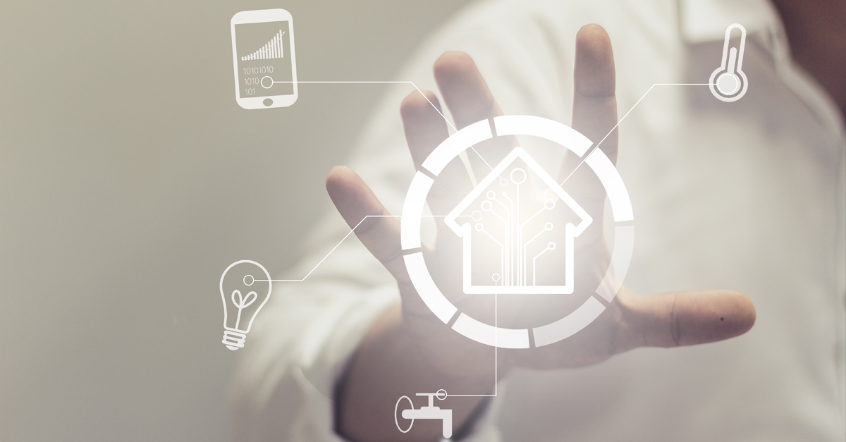 Connected home IoT example