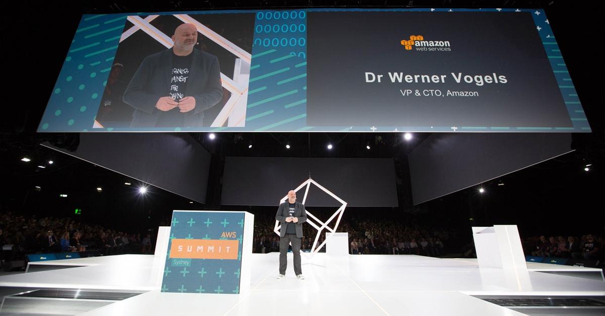 Dr Eerner Vogels AWS presentation
