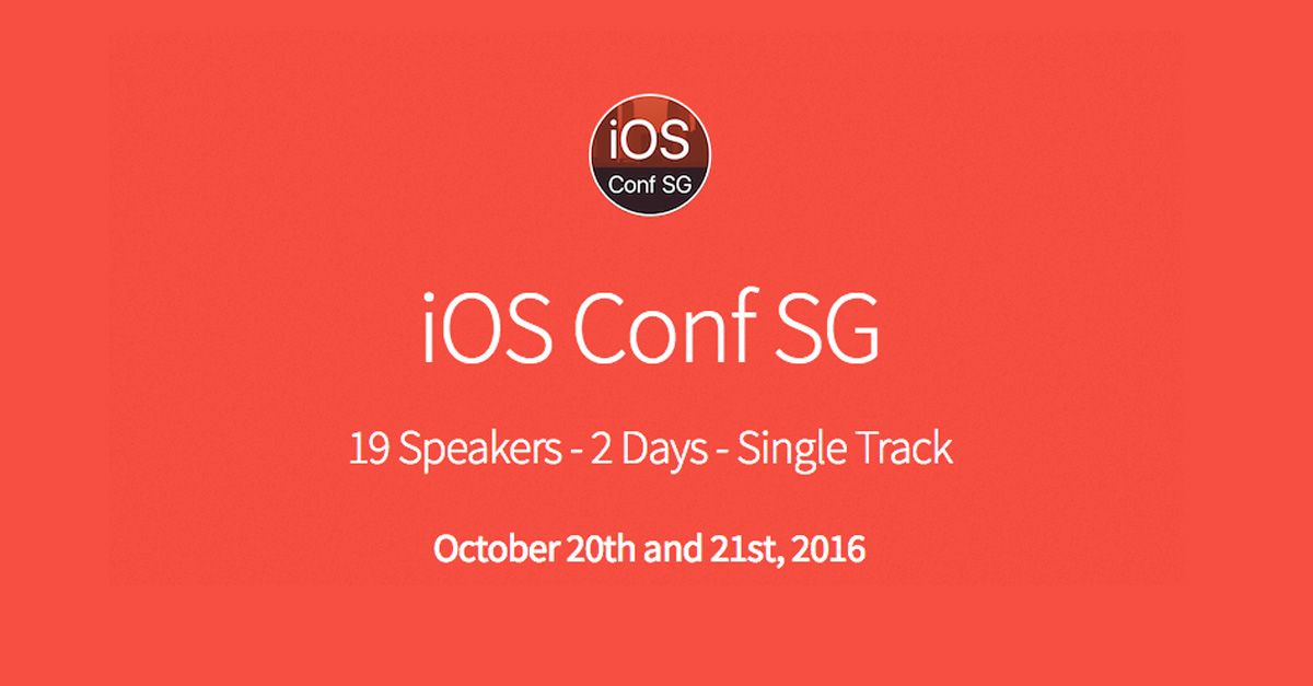 iOS Conf SG Technology Event