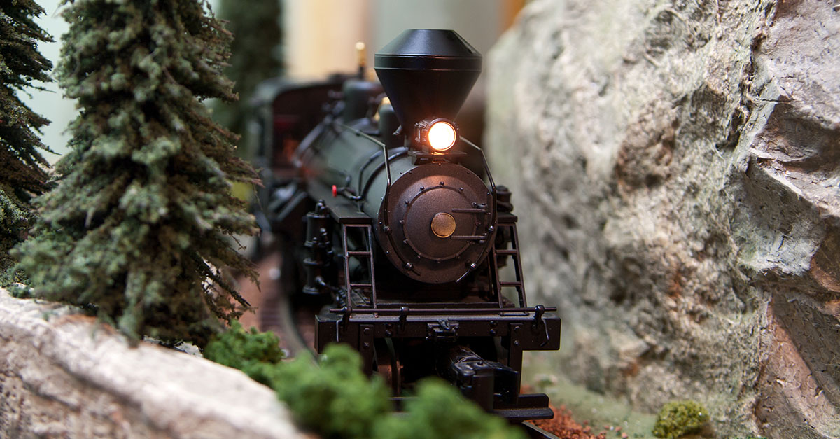 toy train user experience experiment