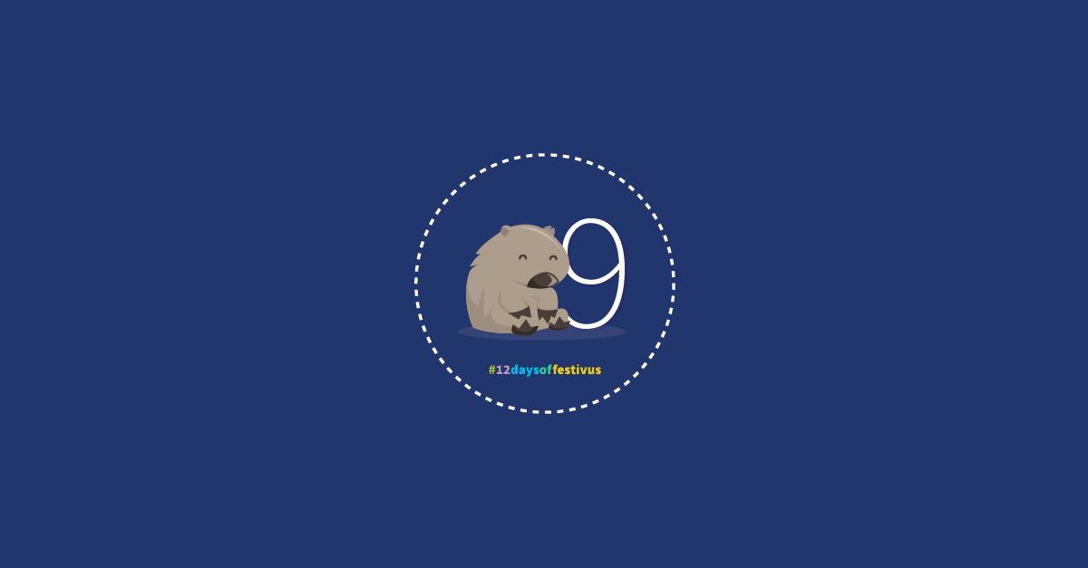 12 Days of Festivus day 9