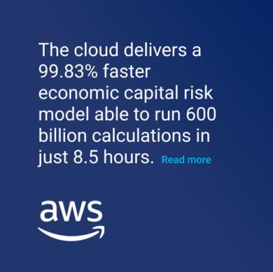 AWS Cloud capital risk model