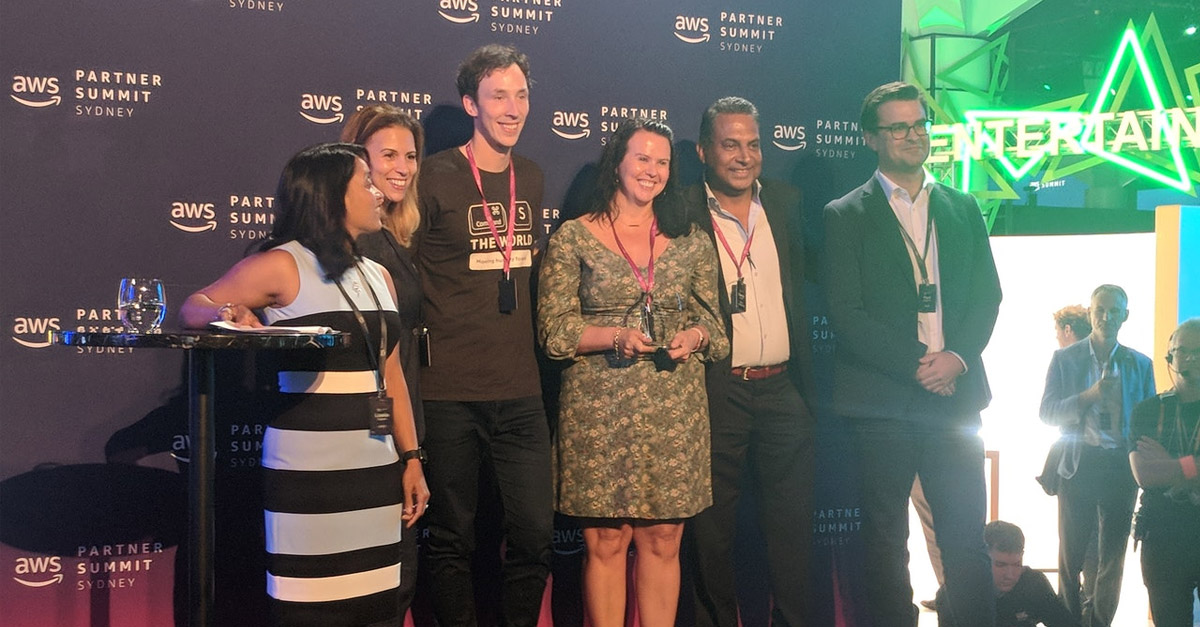 AWS Innovation Partner of the Year Finalist 2018