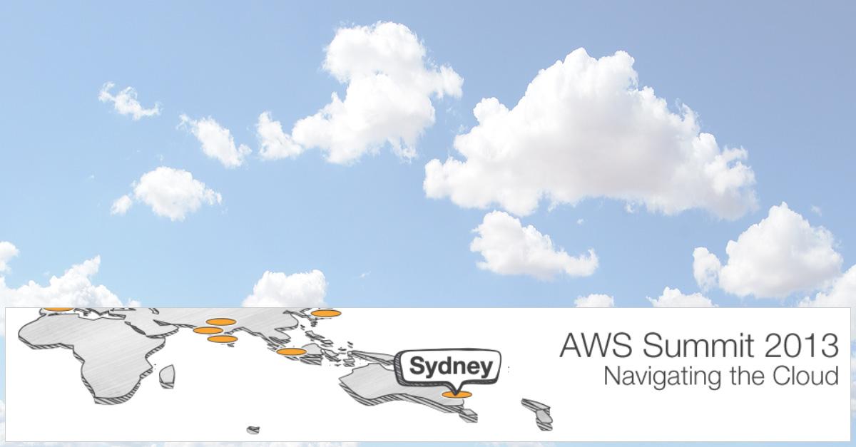 AWS Summit 2013 cloud computing