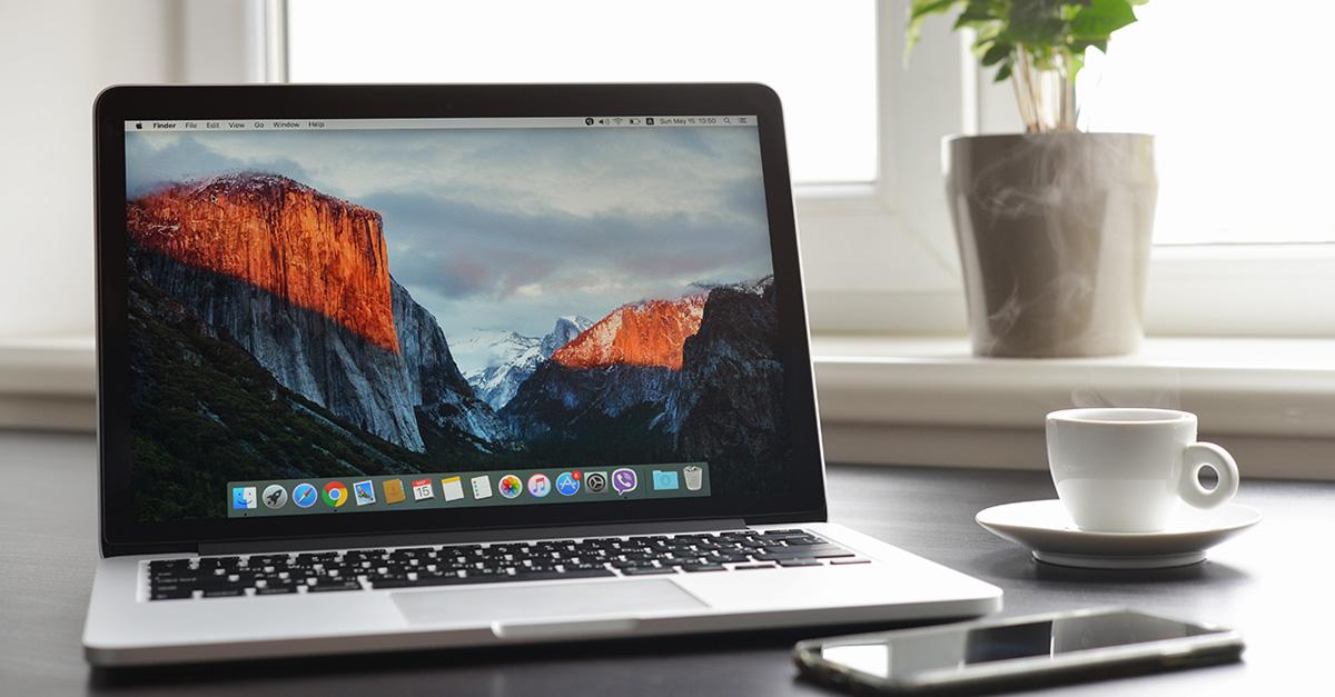 Apple El Capitan laptop
