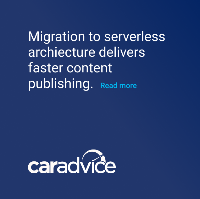 Careadvice migaration to serverless archiecture for faster content publishing