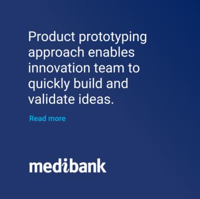 Medibank product prototyping