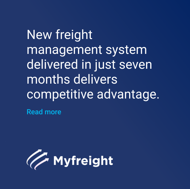 Myfreight freight management system