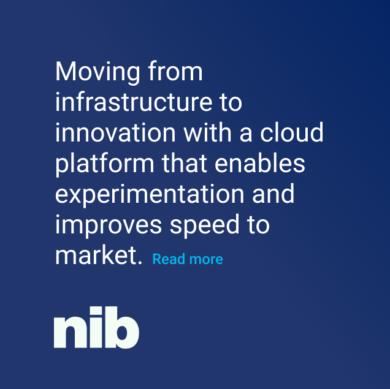 NIB Cloud platform that enables experimentation