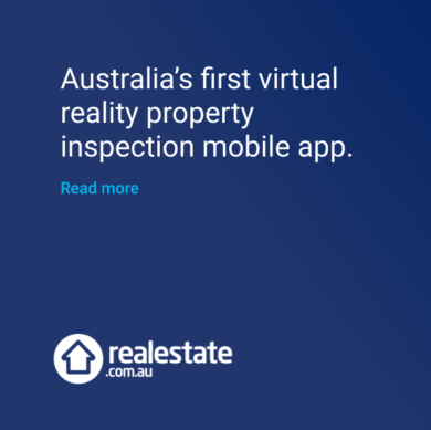 Real estate virtual reality property inspection mobile app