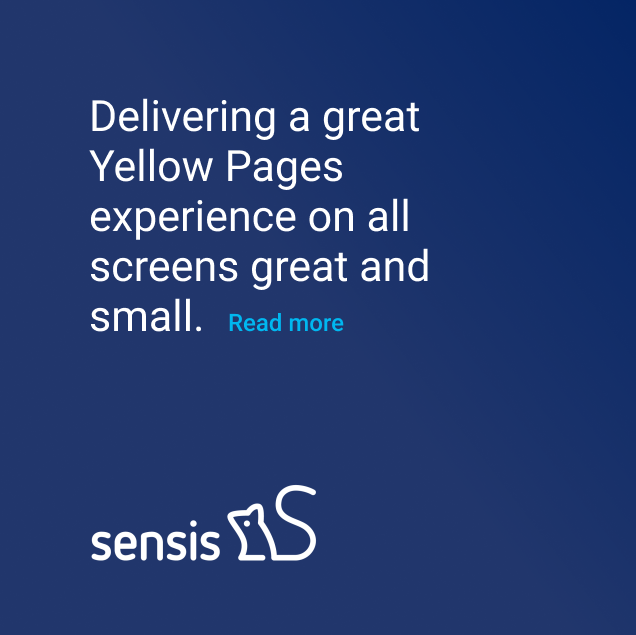 Sensis multichannel customer experience