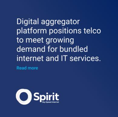 Spirit Digital aggregator platform for Telco