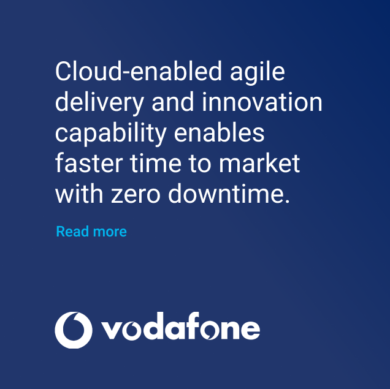 Vodafone Cloud-enabled agile delivery
