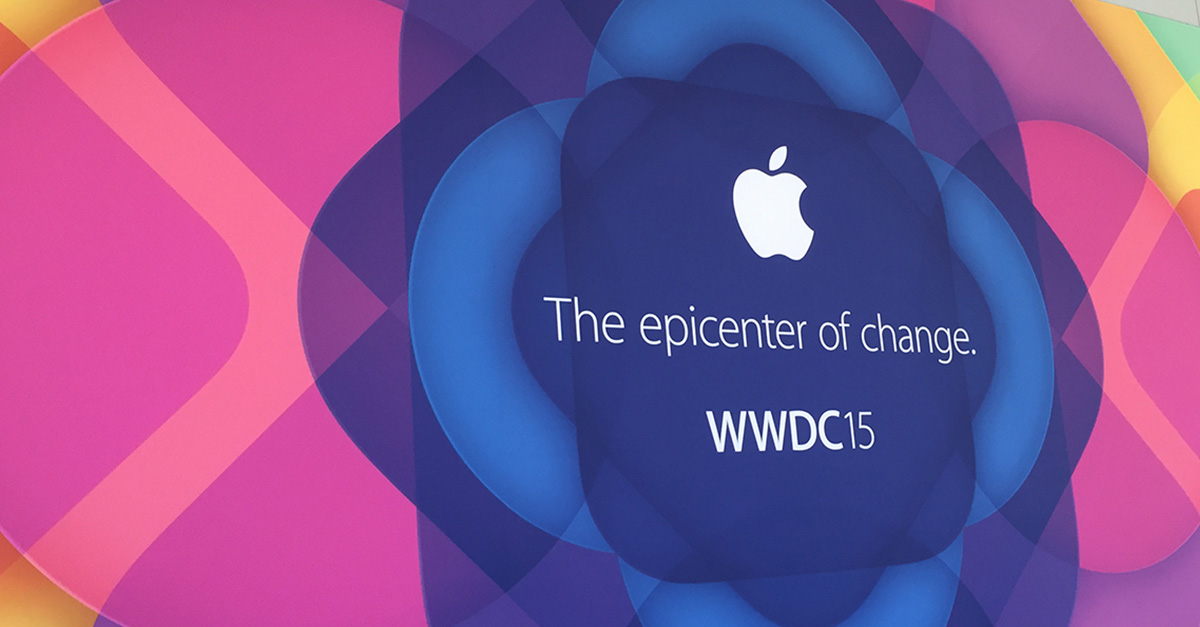 WWDC15 the epicentre of change