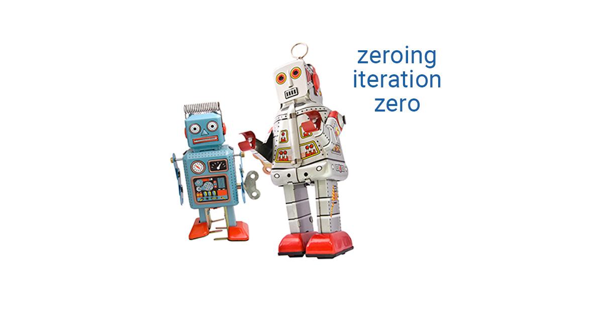 Zeroing Iteration Zero