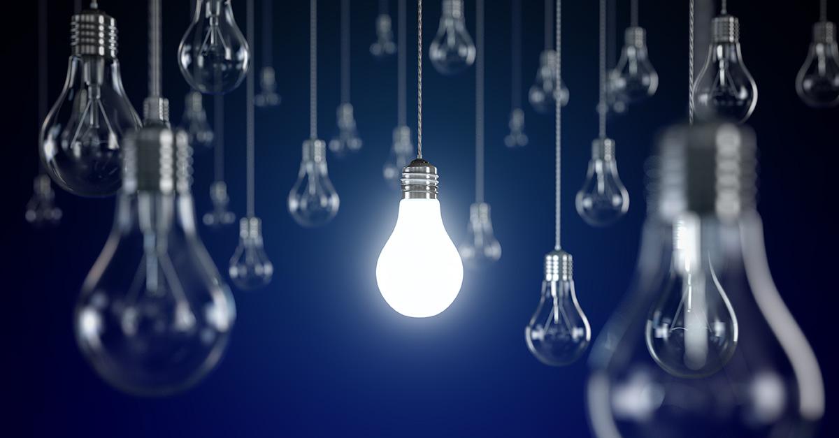 lightbulb innovation ideas