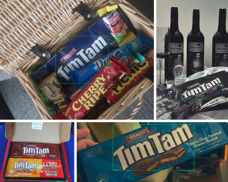 Images of TimTams from Twitter
